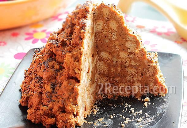 Десерт «муравейник» - рецепты в домашних условиях со сгущенкой, из печенья или кукурузных палочек