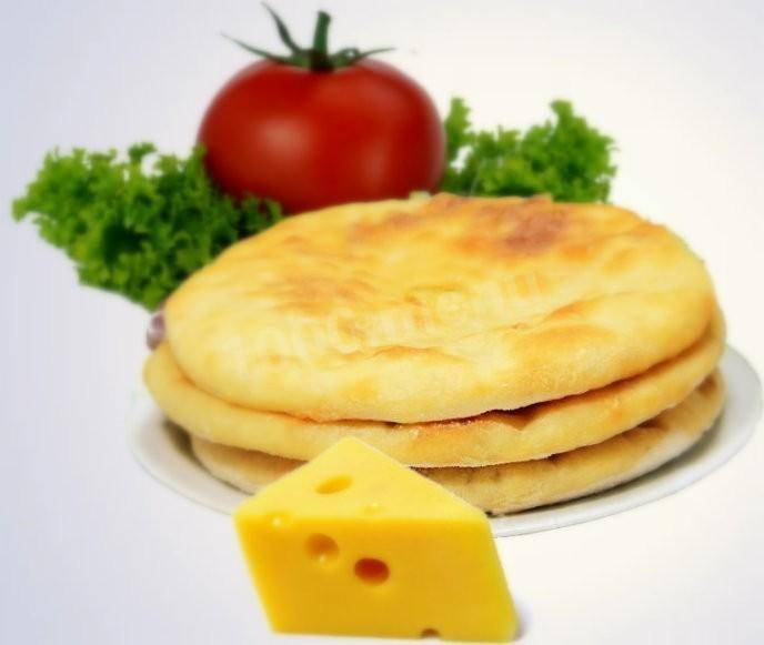 Осетинские пироги с сыром и творогом