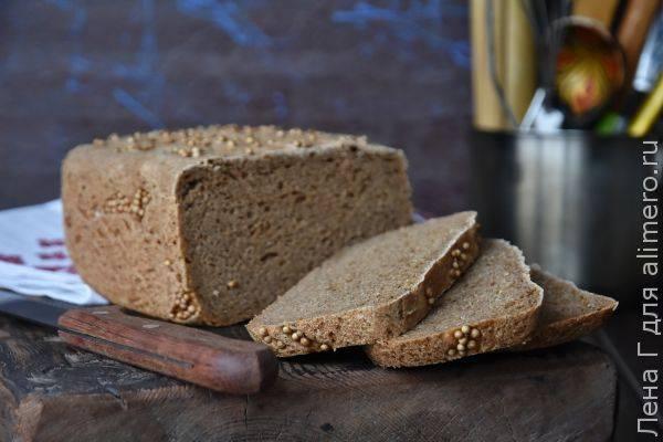 Домашний бородинский хлеб - ароматный и вкусный
