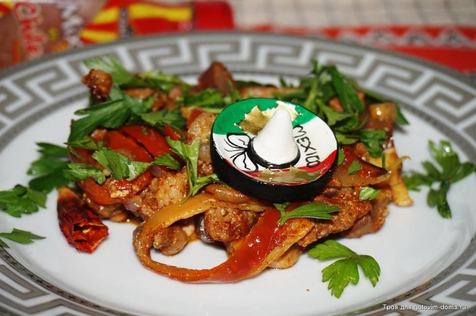 Салат с болгарским перцем и курицей