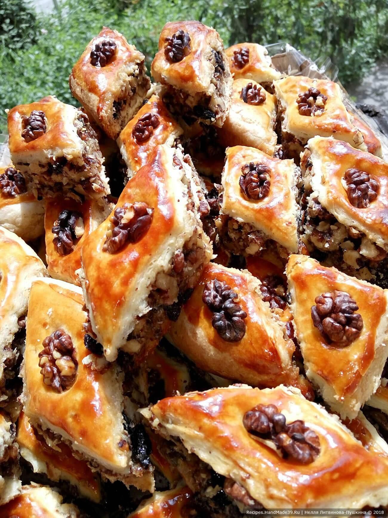 """Печенье """"курабье"""" с грецким орехом"""