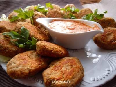 Картофельные зразы с соевым мясом