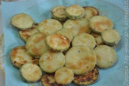 Кабачки в панировке в духовке - 11 пошаговых фото в рецепте
