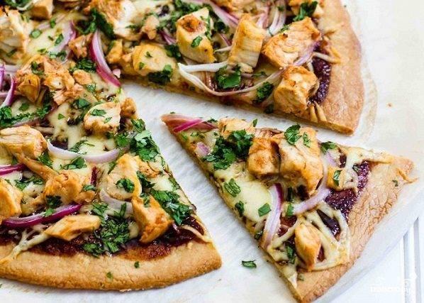 """Пицца """"барбекю"""" – рецепт для домашнего приготовления"""