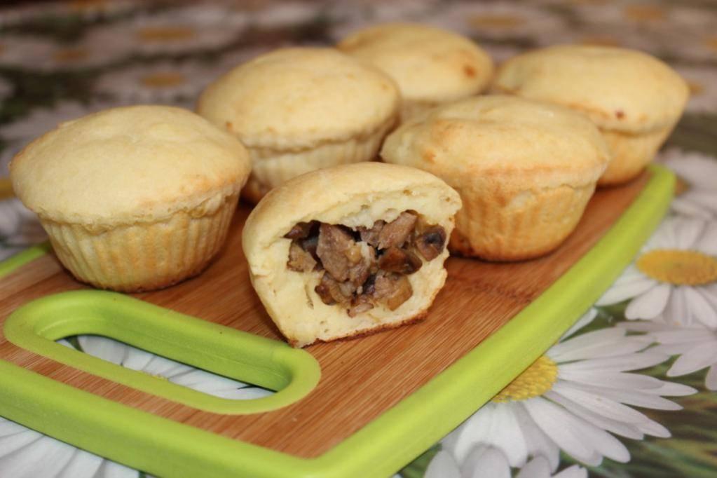 Сладкие кексы из картофеля с какао