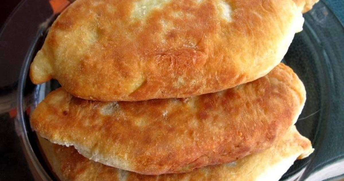 Рецепт пирожки жареные на кефире и твороге