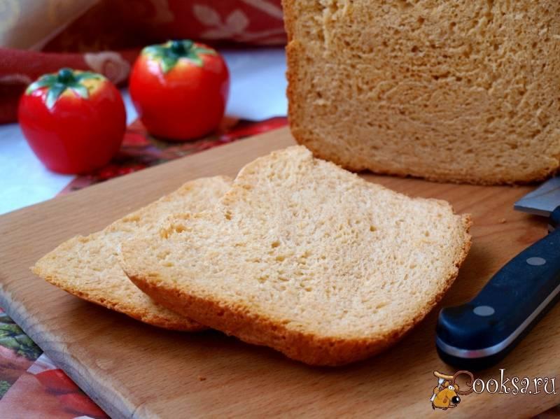 Хлеб на овощном соке в хлебопечке