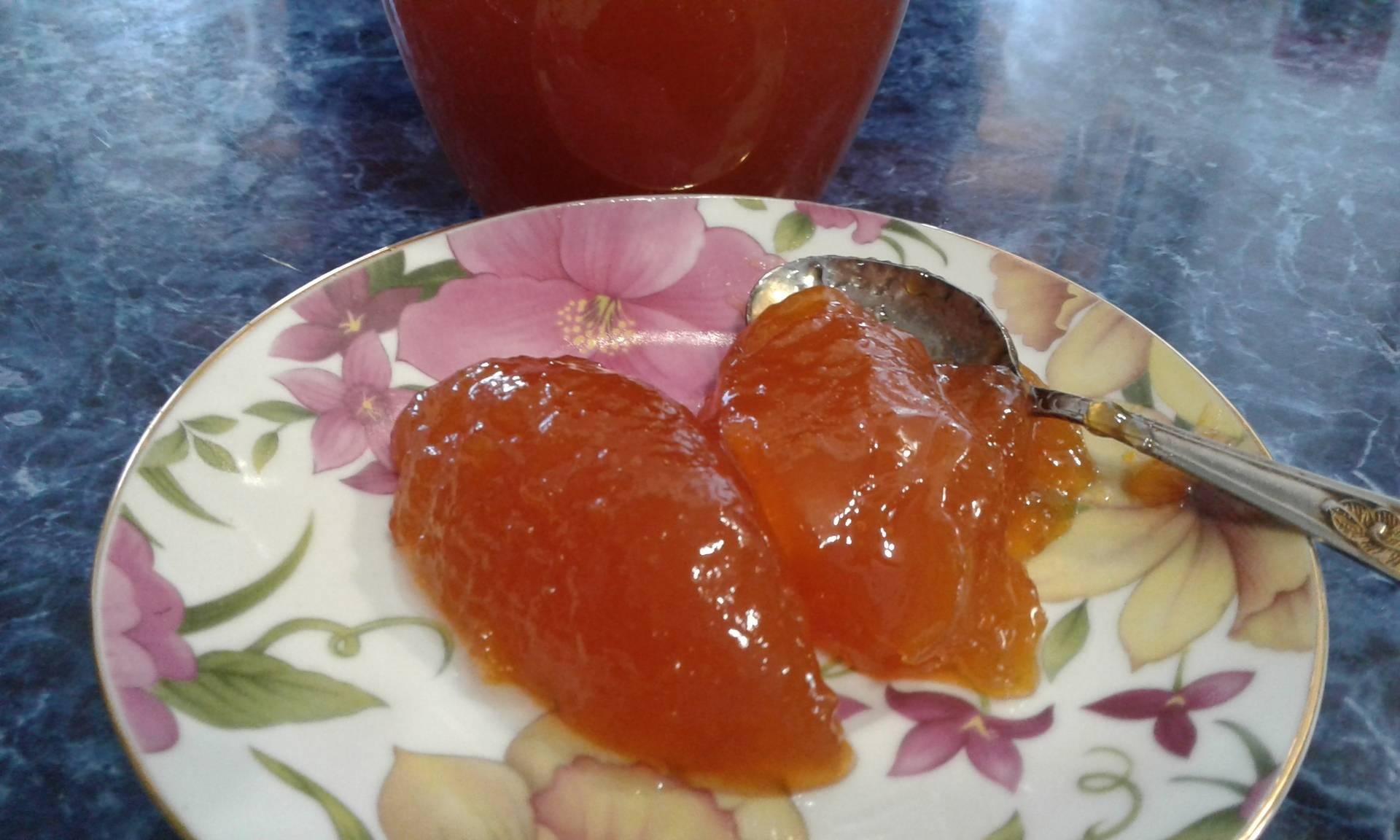 Апельсиновое желе из апельсинов