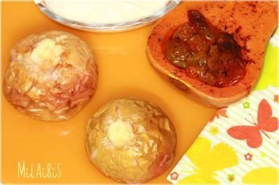 Яблоки с творогом, запеченные в духовке по очень вкусным и несложным рецептам