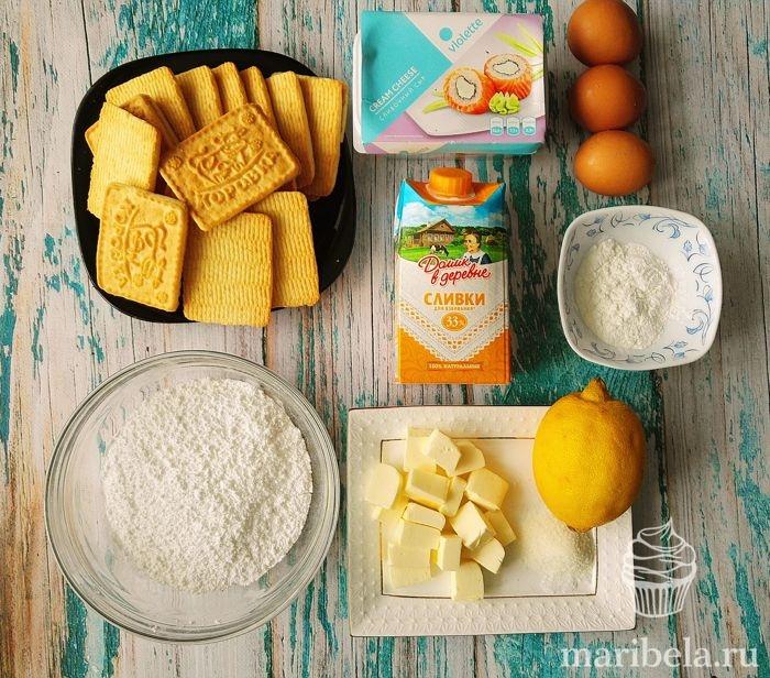Чизкейк с выпечкой - рецепты