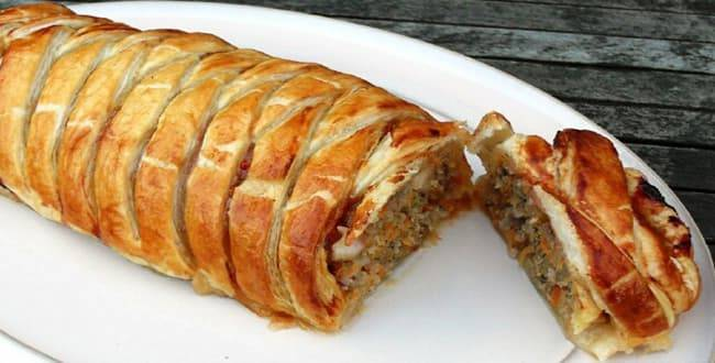 Кулебяка с мясом – рецепт с фото вкусной и сытной выпечки