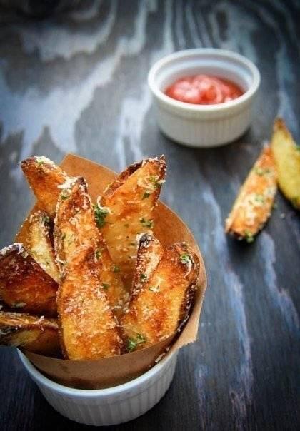 Картофельные дольки в беконе с розмарином - рецепт с фотографиями - patee. рецепты