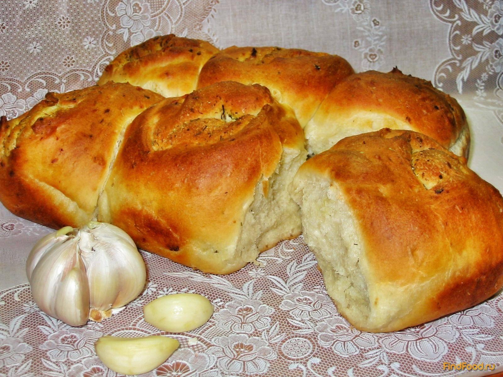 Укропно-чесночные булочки