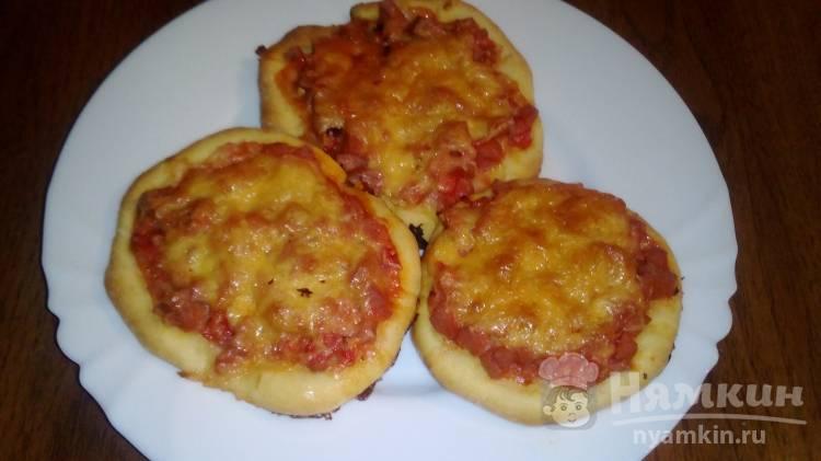 Пицца с сосисками - рецепты джуренко