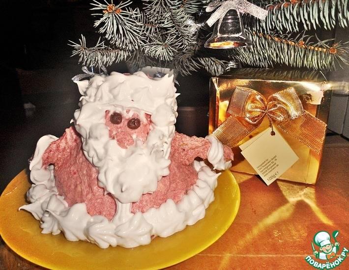 Вкусный подарок. печенье  «дед мороз». рецепт с пошаговыми фото