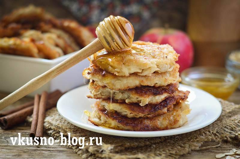 Овсяно-яблочное постное печенье