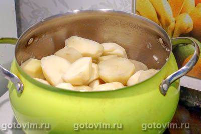 Картофельные ватрушки с фаршем
