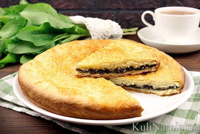 Рецепты пирогов со щавелем из слоеного, дрожжевого, песочного теста
