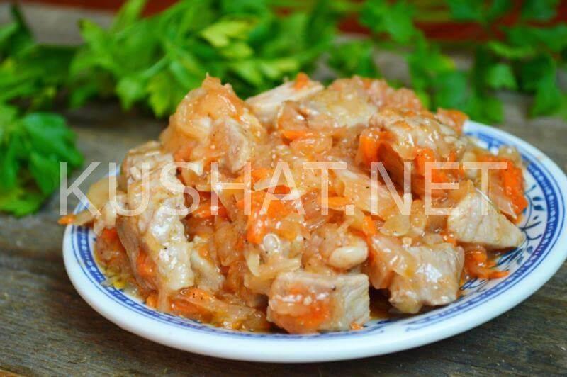 Тушеная капуста с рисом - 7 пошаговых фото в рецепте