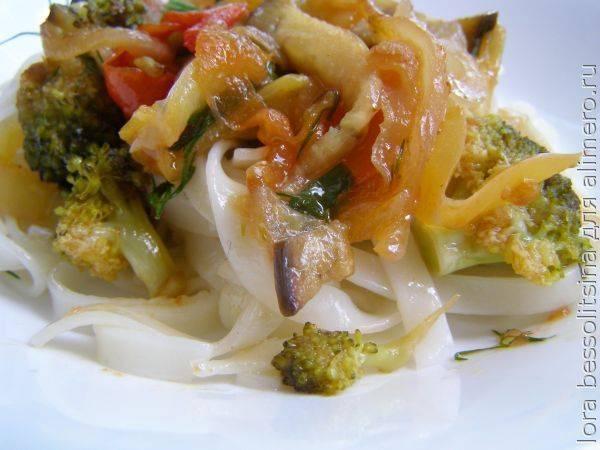 Идеальный завтрак и не только – вкусное и полезное блюдо из лапши и овощей