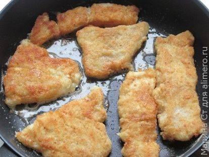 Жареное филе пангасиуса: рецепт и фото