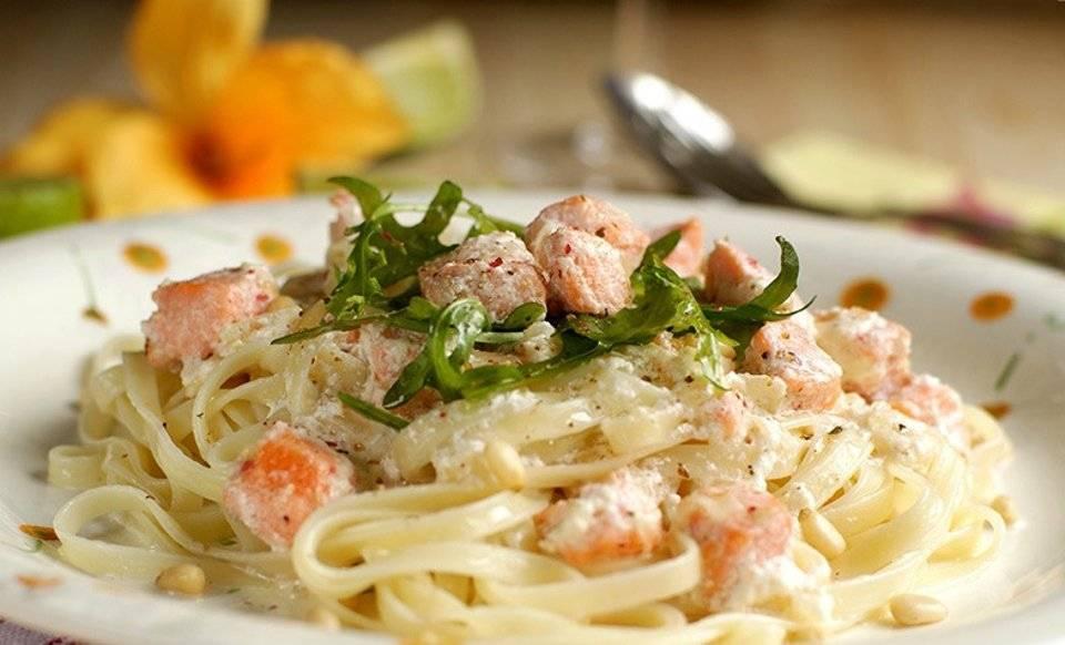 Паста с лососем в сливочном соусе рецепт с фото, как приготовить пасту с лососем в сливочном соусе пошаговый рецепт