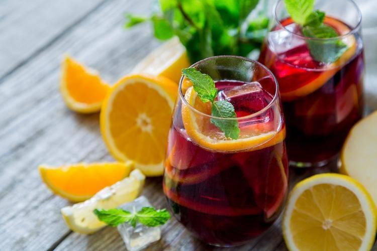 Вино сангрия своими руками: рецепты в домашних условиях