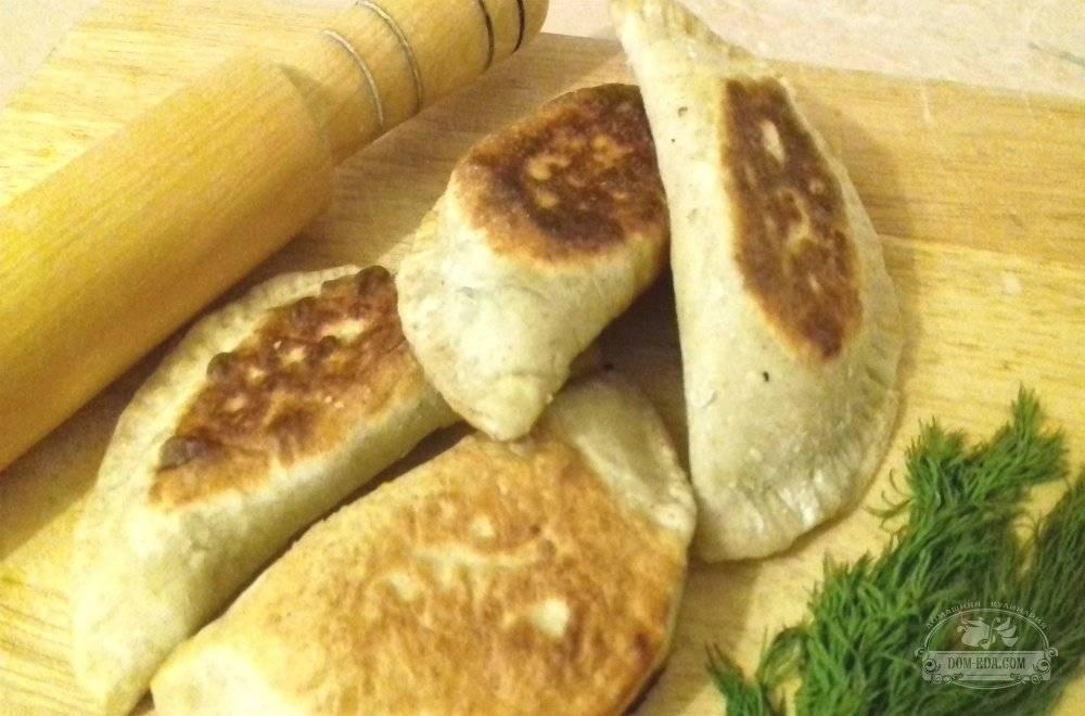 Пирожки со шпинатом и сыром