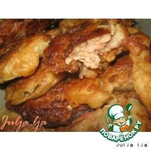 Куриная печень в кляре