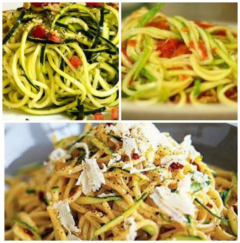 Паста спагетти из кабачков или цукини — рецепты сыроедов