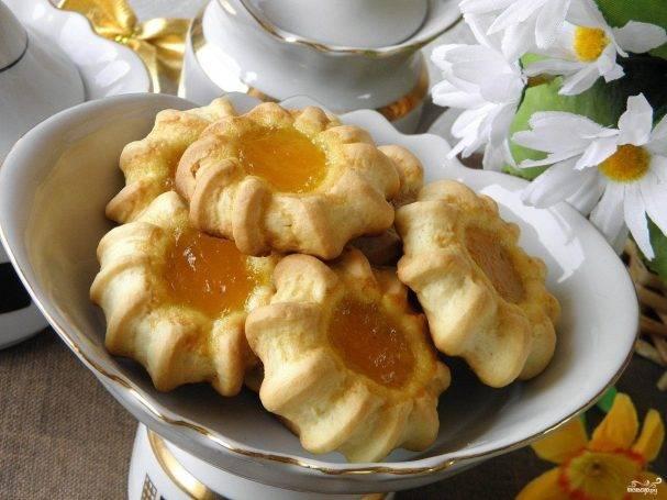 Печенье с лимонным джемом