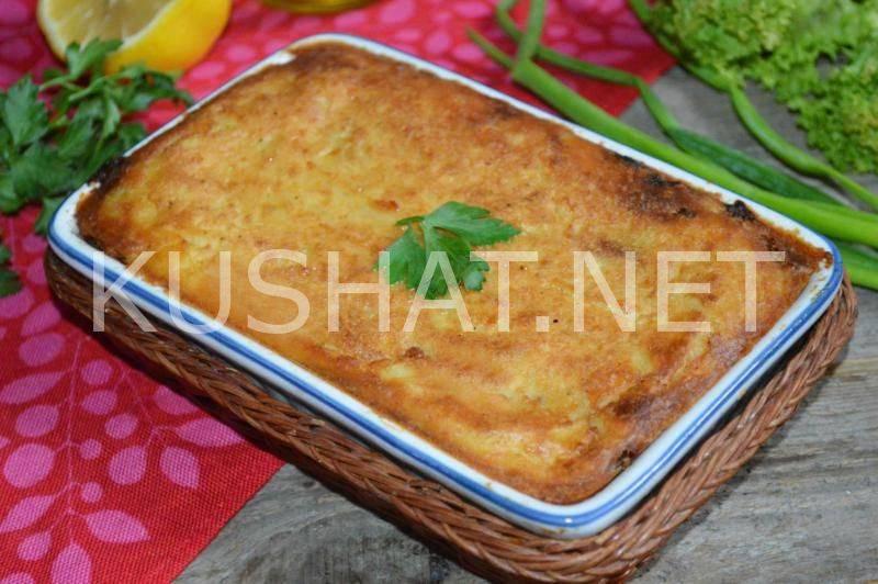 Рецепты приготовления картофельной запеканки с курицей в духовке