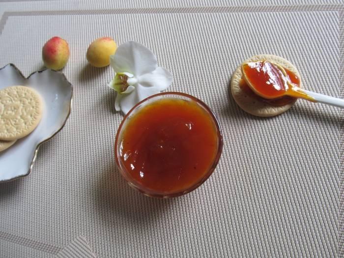"""Джем """"кофейный абрикос с ванилью"""""""