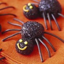 "Печенье ""паук"" на хэллоуин"