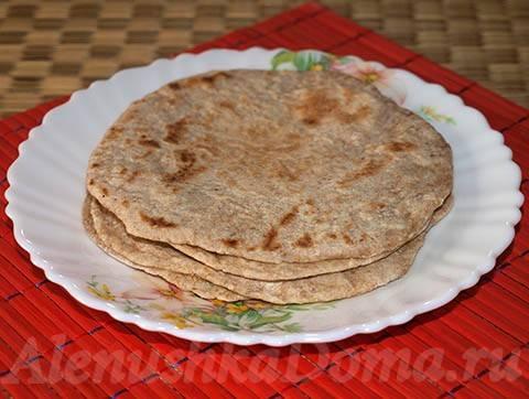 Индийские лепешки «чапати»