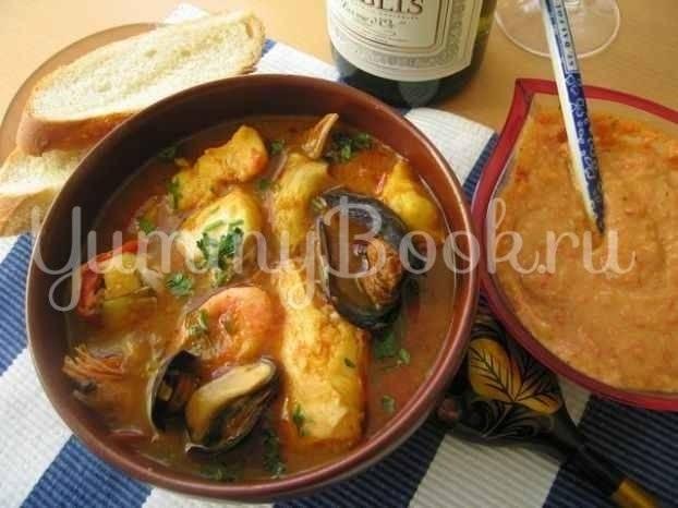Суп-пюре рыбный с морепродуктами