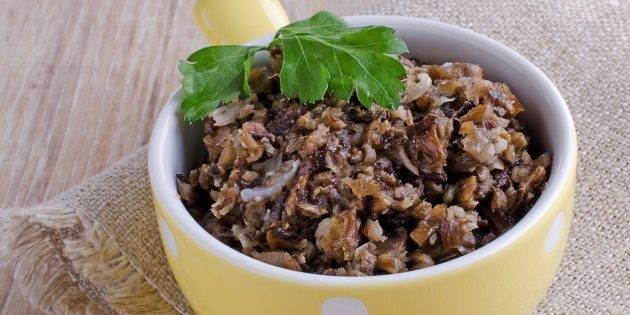 Грибная икра через мясорубку - 8 пошаговых рецептов с фото, опята, лисички, белые