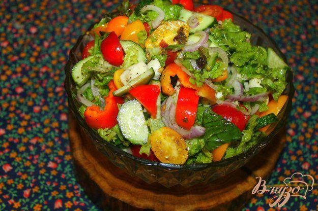 Салат с моцареллой — готовим вкусно дома