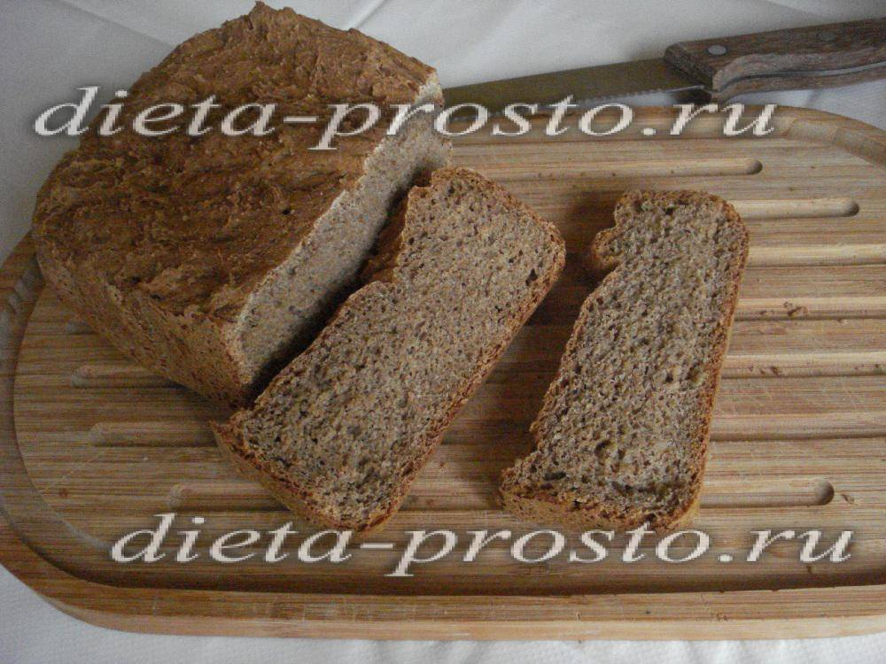 Домашний хлеб из цельнозерновой муки
