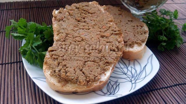 Паштет из печени индейки в домашних условиях: диетические рецепты