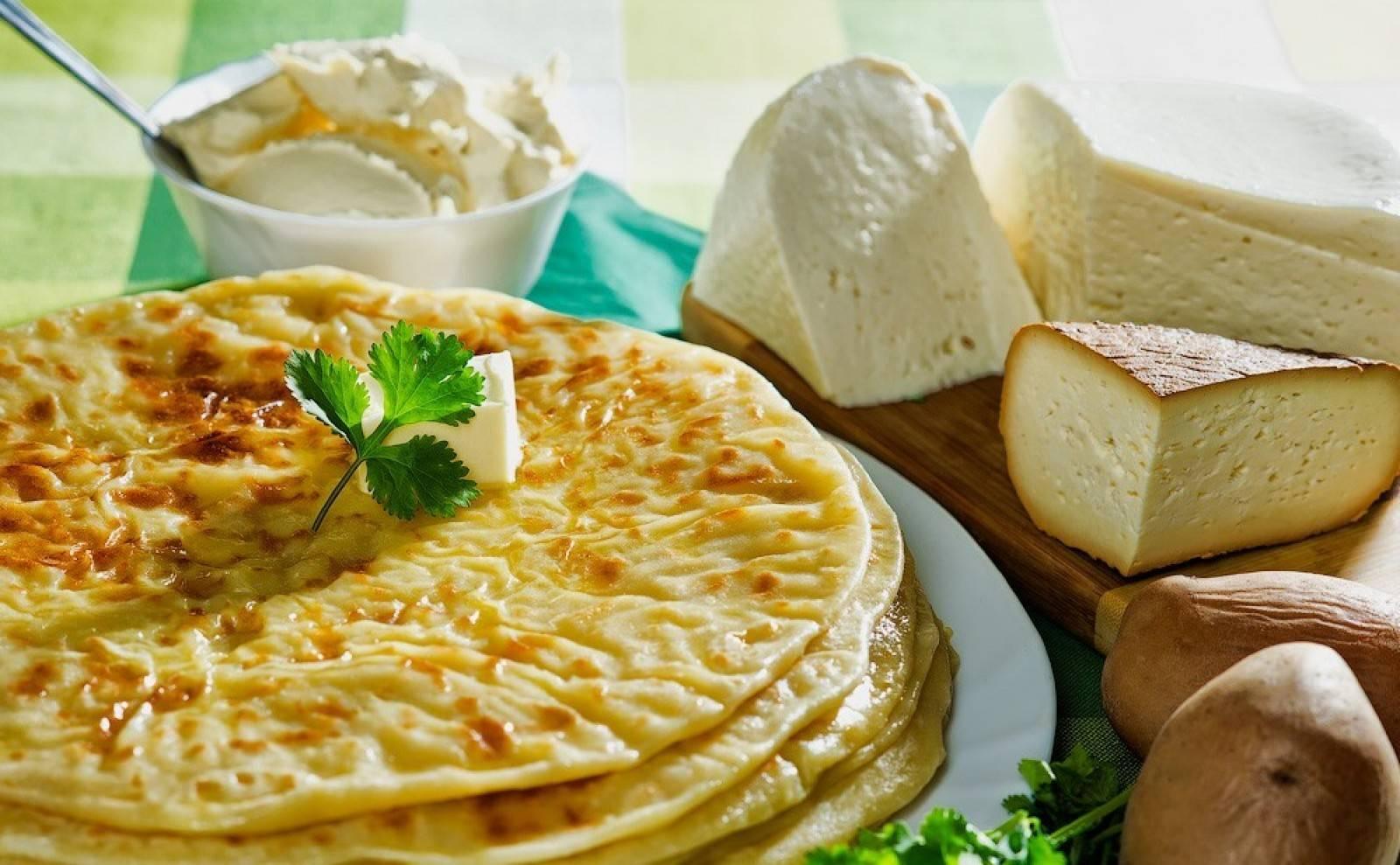 Хычины с сыром: 8 рецептов с кавказа |