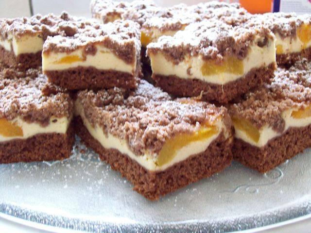 Лимонные кексы с ореховым штрейзелем