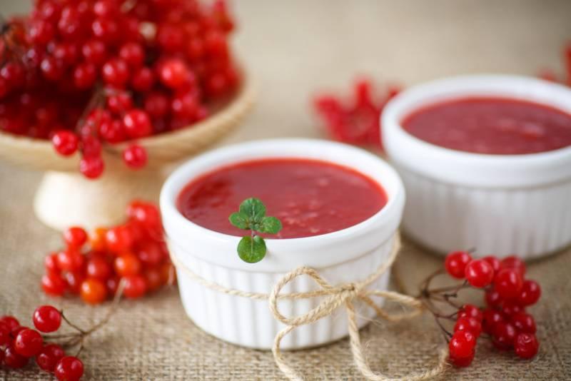Калина без сахара на зиму: готовим вкусно и просто