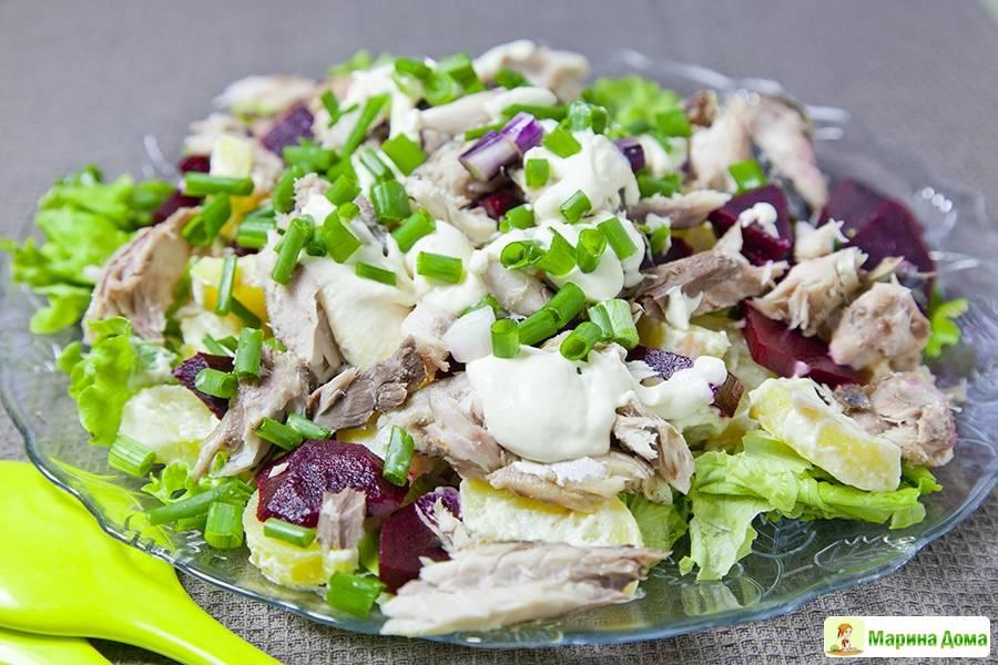 Картофельный «Цезарь» - необычный и вкусный салат