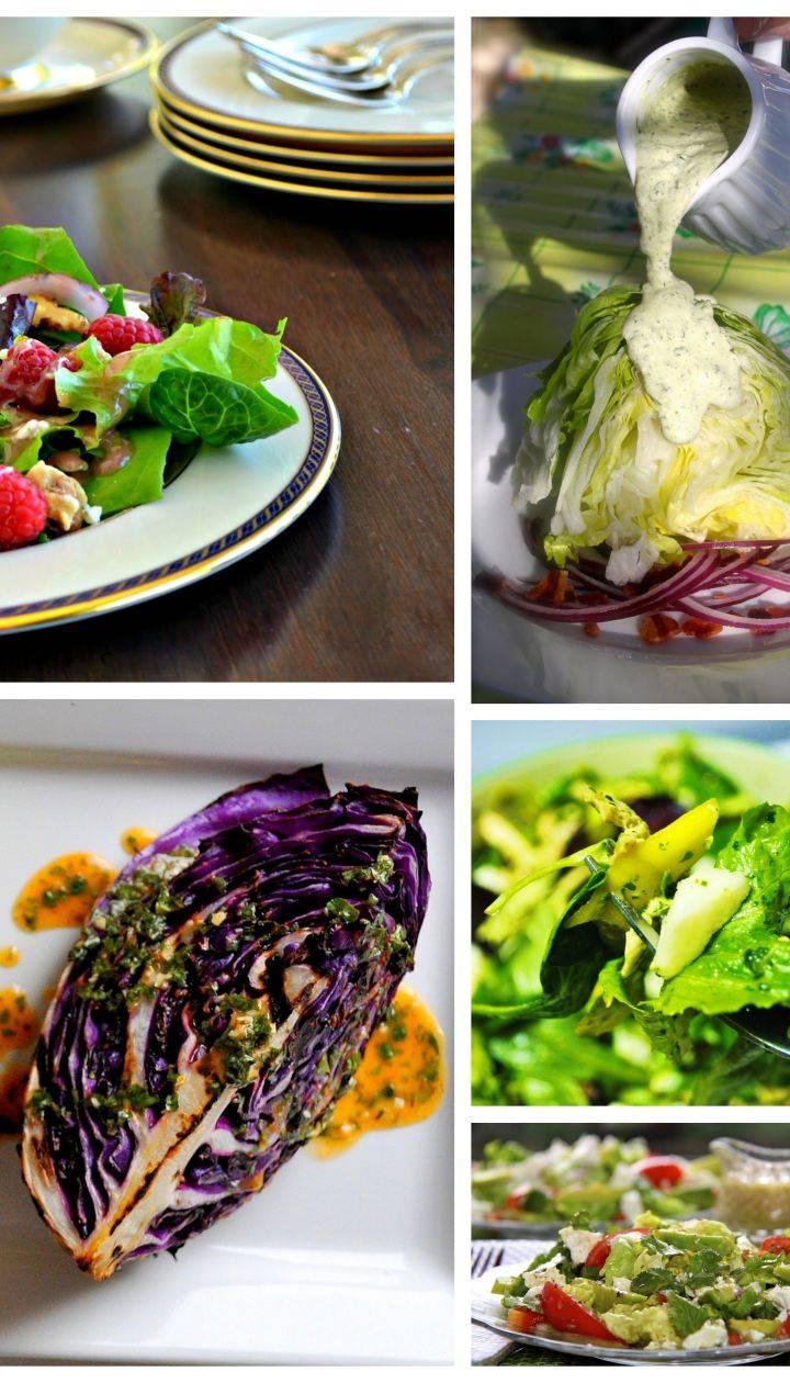 Легкий итальянский салат с потрясающей заправкой
