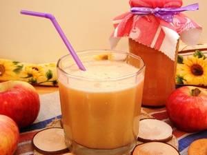 Сок из яблок: как сделать и закатать