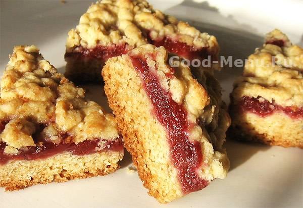 Печенье с вареньем - самые вкусные рецепты выпечки из разного теста