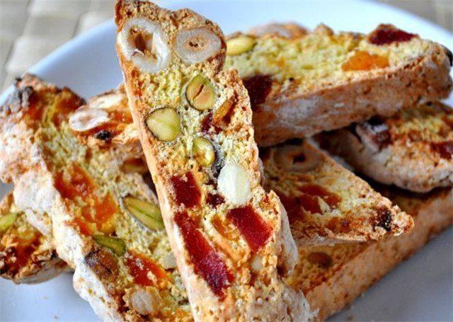 Бискотти итальянское печенье с миндалём