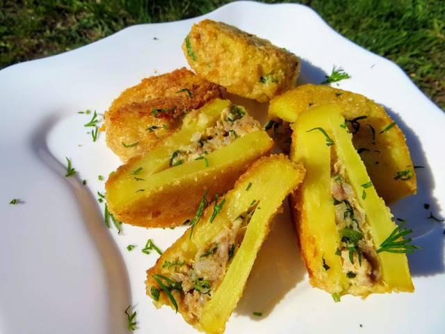 Картофельные кармашки