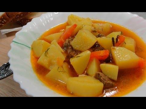 Картошка тушеная с курицей — рецепты вкусного блюда